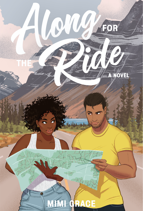 Along for then Ride by Mimi Grace book cover